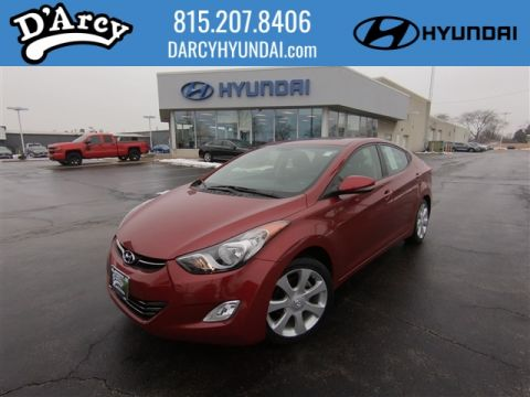 Pre-Owned 2012 Hyundai Elantra LIMITED