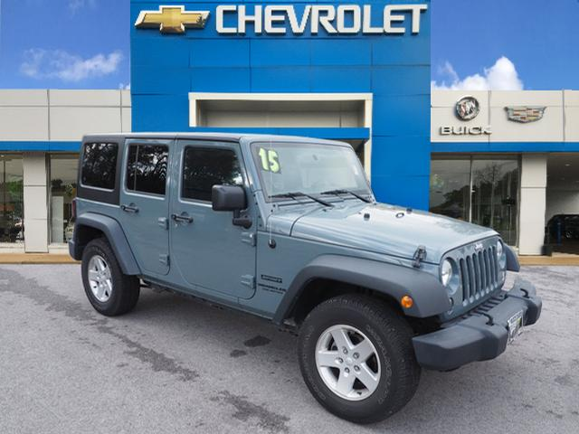 Exceptional Pre Owned 2015 Jeep Wrangler Unlimited Sport