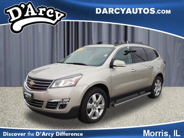 Certified Pre-Owned 2017 Chevrolet Traverse Premier