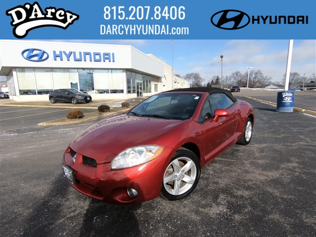 pre-owned 2008 mitsubishi eclipse spyder gs gs 2dr convertible in