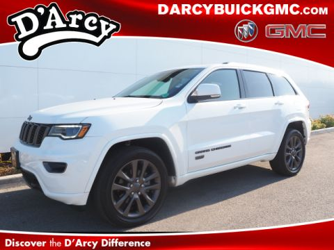 Pre-Owned 2017 Jeep Grand Cherokee LIMITED 75TH AN