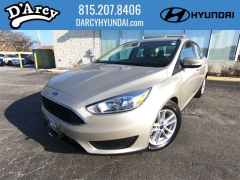 Pre-Owned 2017 Ford Focus SE FWD SE 4dr Sedan