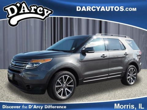 Pre-Owned 2015 Ford Explorer XLT With Navigation & AWD