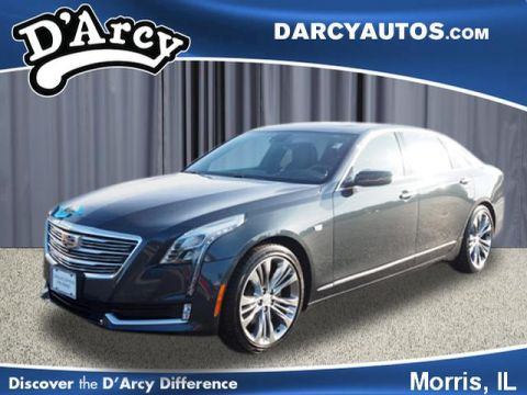 Certified Pre-Owned 2018 Cadillac CT6 Platinum With Navigation & AWD