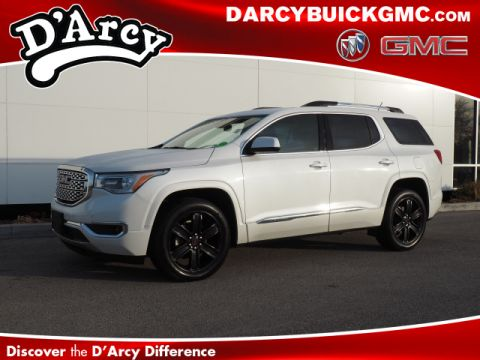 Pre-Owned 2017 GMC Acadia Denali With Navigation & 4WD