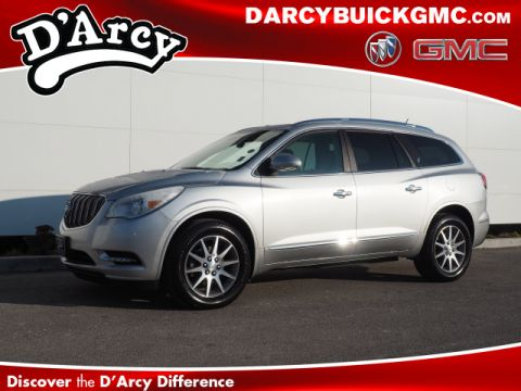 Pre-Owned 2015 Buick Enclave Leather FWD Leather 4dr Crossover