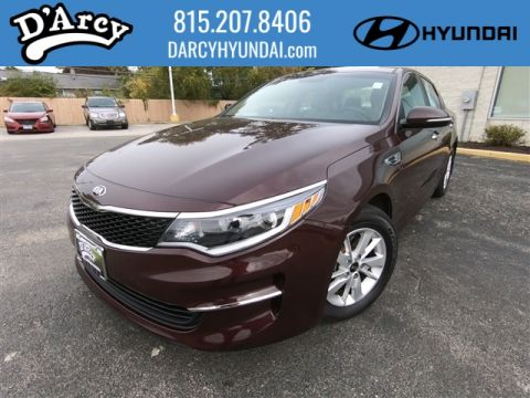 Pre-Owned 2016 Kia Optima LX FWD LX 4dr Sedan