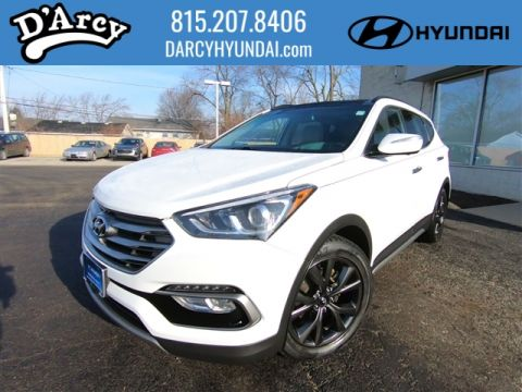 Pre-Owned 2017 Hyundai Santa Fe Sport 2.0T Ultimate With Navigation