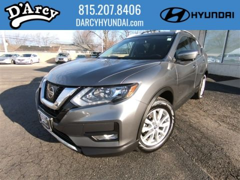 Pre-Owned 2017 Nissan Rogue SV AWD